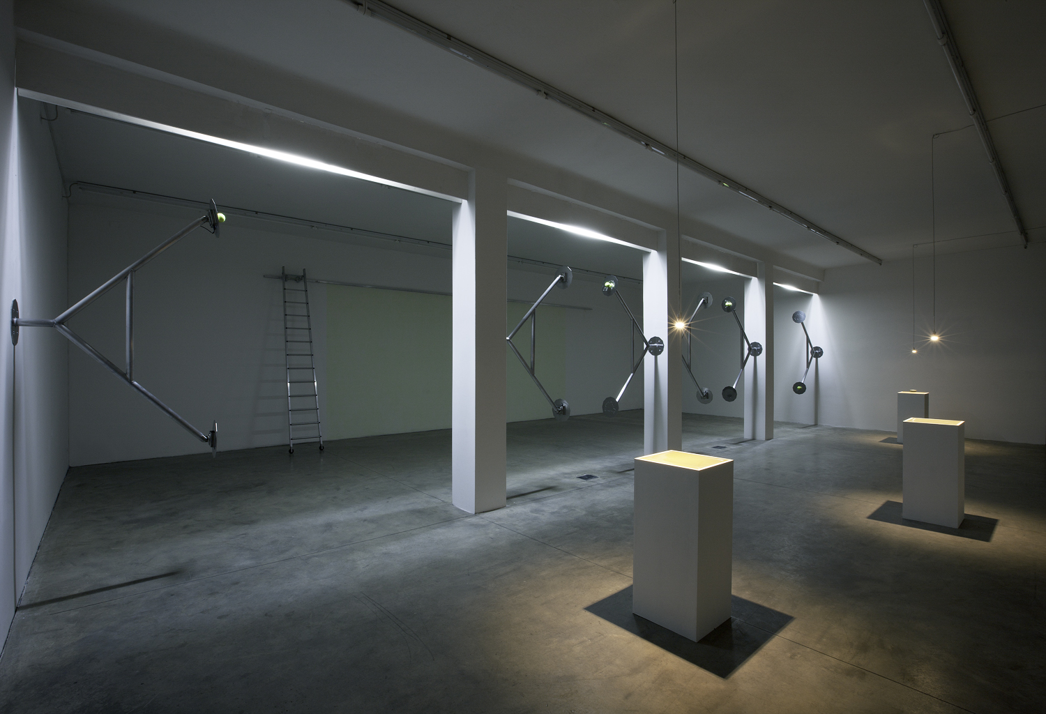 "Exhibition view, ""U-Drawings"", 2010"