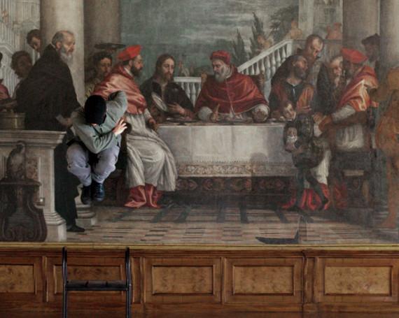 Supersymmetric Partner / Convito in Casa di Gregorio Magno