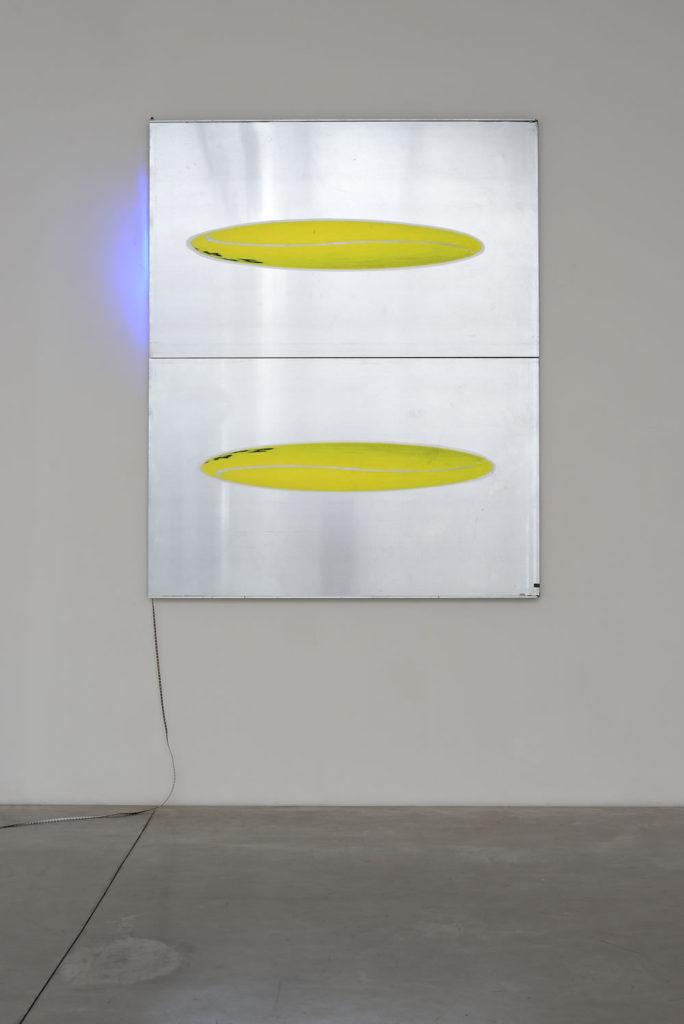 Superlayer, exhibition view, Self Management, Galleria Enrico Astuni.