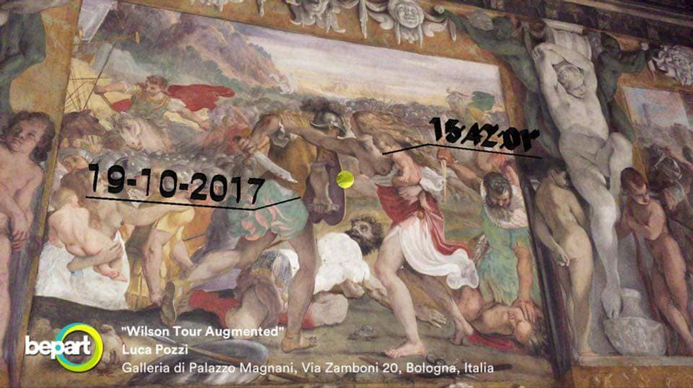 Wilson Tour Augmented (The battle between Romans and Sabini), 2017. Bepart augmented reality app