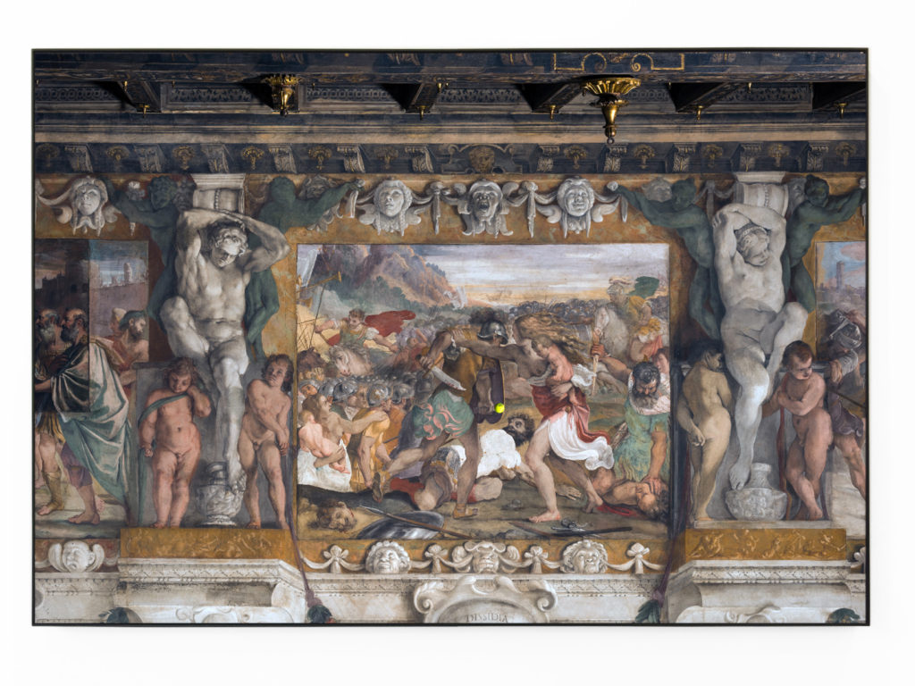 "Luca Pozzi,""Wilson Tour Carracci"", Ink-Jet print on Di-Bond 3mm, 126x185 cm ed. 1/3."