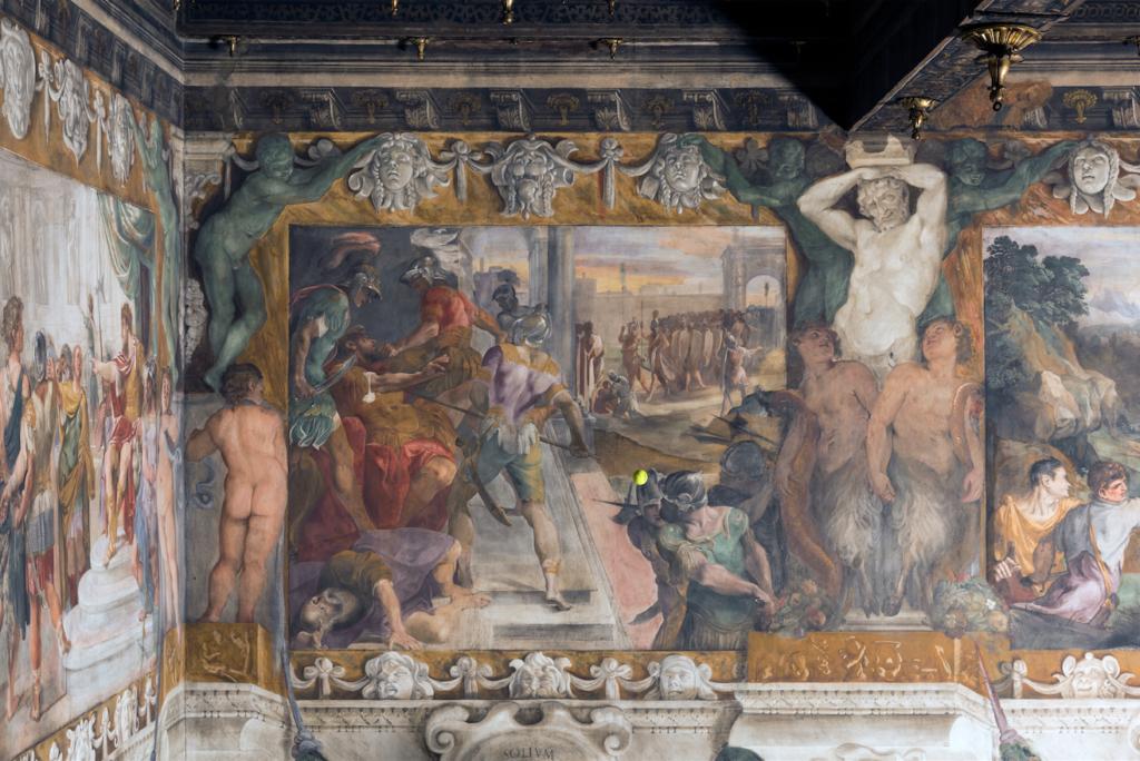 """Wilson Tour Carracci from """"Storie della fondazione di Roma"""" - L'uccisione di Amulio"""