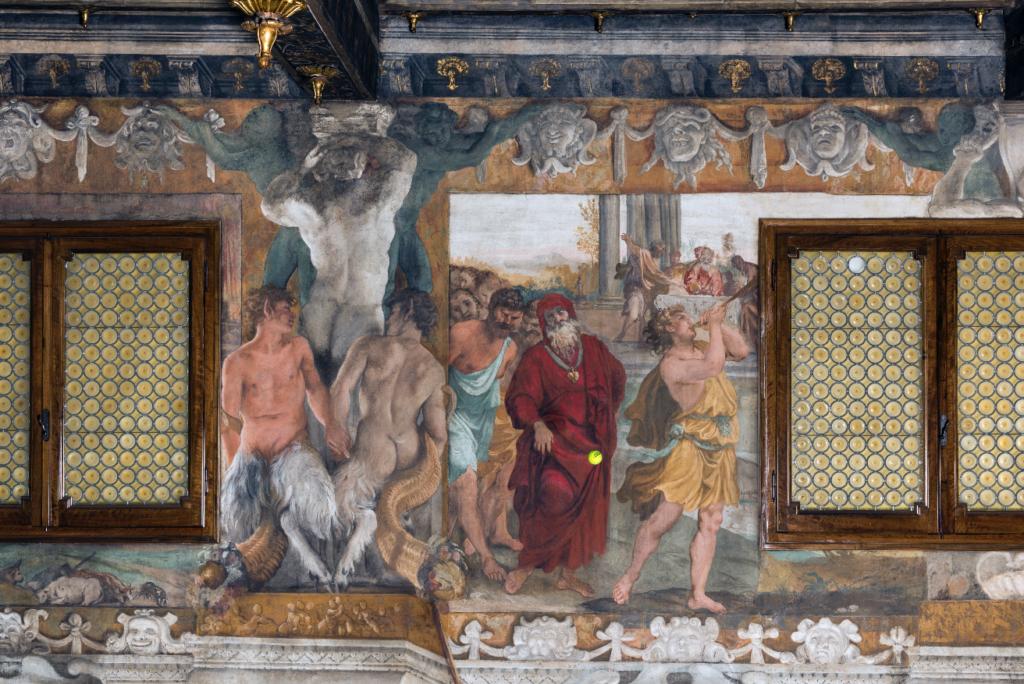 """Wilson Tour Carracci from """"Storie della fondazione di Roma"""" - Roma colpita dalla peste"""