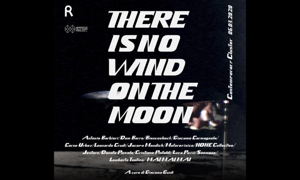 There is no wind on the moon